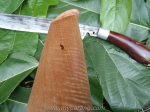 kayu serian wooden sheath