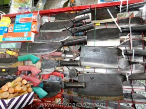 parang and golok specialist