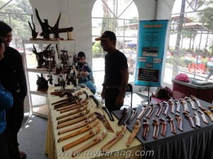Parang maker from South of Malaysia