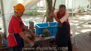 traditional Malaysian blacksmith